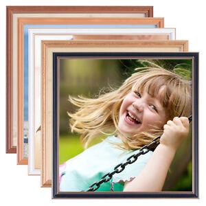 Astra holz quadratisch bilder rahmen foto bild 9x9 10x10 for Fenster 30x30