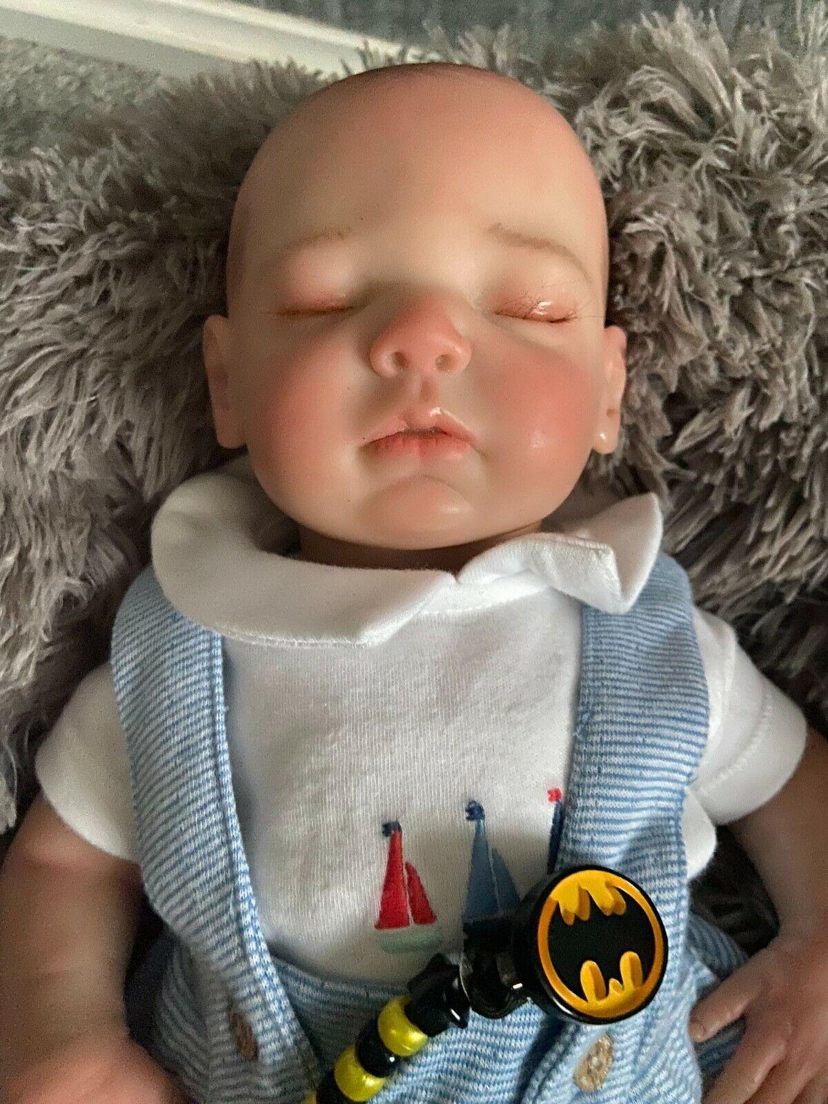 Gorgeous Reborn Baby Boy Toby.
