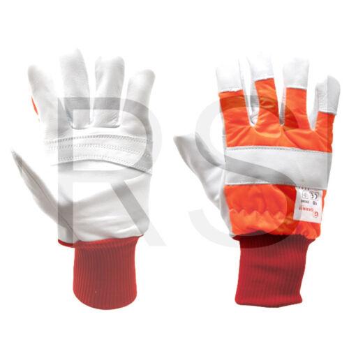 Schnittschutzhandschuh a hochwertigem Rindkernleder EN 381-7 EN 388 52470113 SP