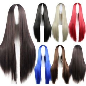 Heat-Resistant-Synthetic-Hair-Long-Straight-Cosplay-Wig-Anime-Fancy-Dress-Wigs