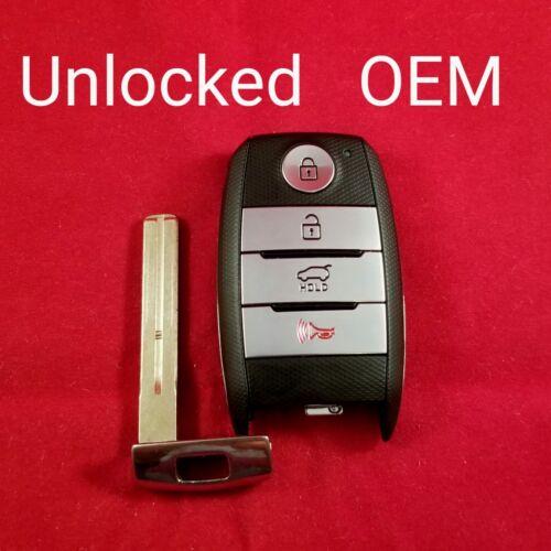 Unlocked OEM  2014-2016 Kia SPORTAGE Smart Key 4B Hatch FCC ID SY5XMFNA433