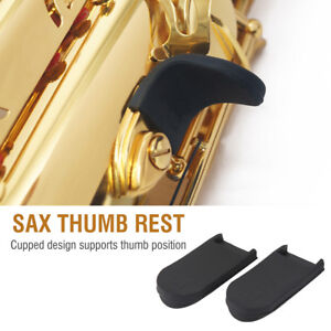 2Pcs-Rubber-Saxophone-Thumb-Rest-Gel-Cushion-Pad-Cover-For-Sax-Thumb-Hook-Finger