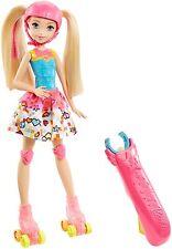 Barbie Video Game Hero Skating Doll Roller Skates Dol Toy New