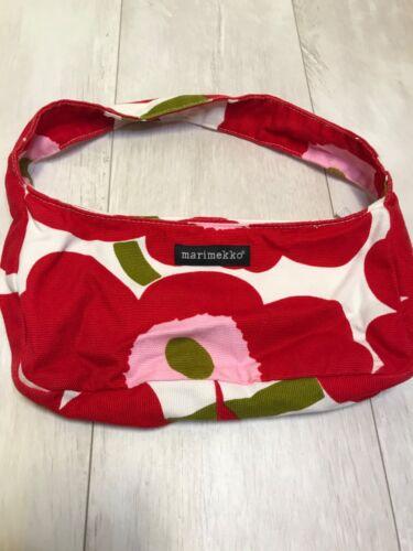 Marimekko Red Unikko Handbag