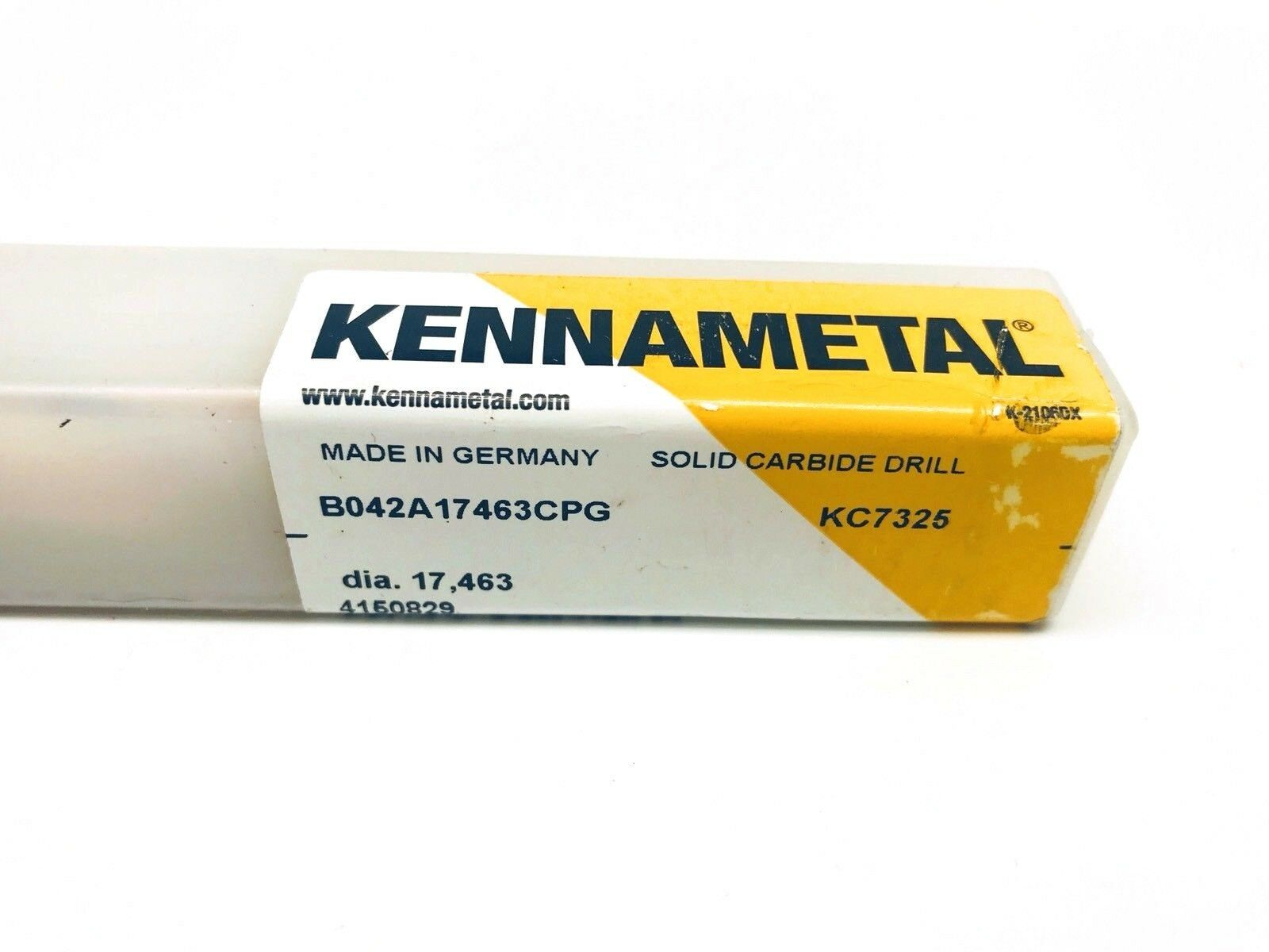 "Kennametal solid carbide drill 3//32/"" 2 flute TIALN coated B042A02383CPG KC7325"