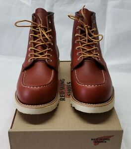e155a8c766c 1st Quality Red Wing Moc Toe Oro Russet Portage 8131 Boots 875 Iron ...
