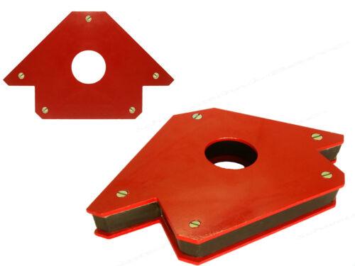 Super Kräftiger Winkelmagnet Dritte Hand Schweißer Magnet 45//90//135 Groß 3 43kg