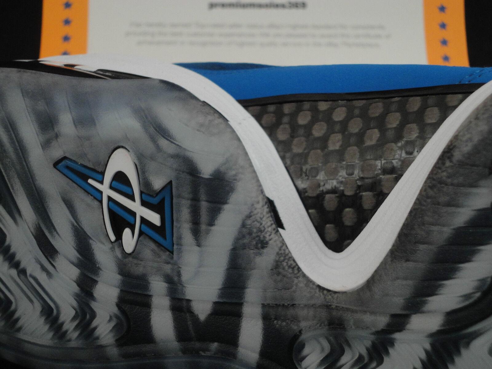 Nike Air Penny V, Size Blue 8, Memphis Tigers, Royal Blue Size 6ff70d