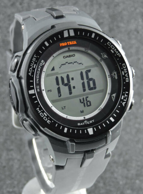 CASIO PRO TREK PRW-3000-1ER Triple Sensor Solar Funk ( Mount Rolleston )