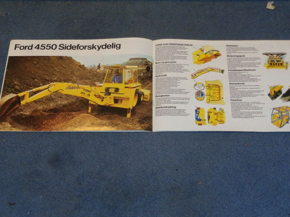 Brochure, Ford 4550