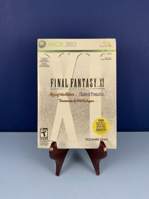 Final Fantasy XI Online Factory Sealed New Xbox 360 Incl. Slip Cover
