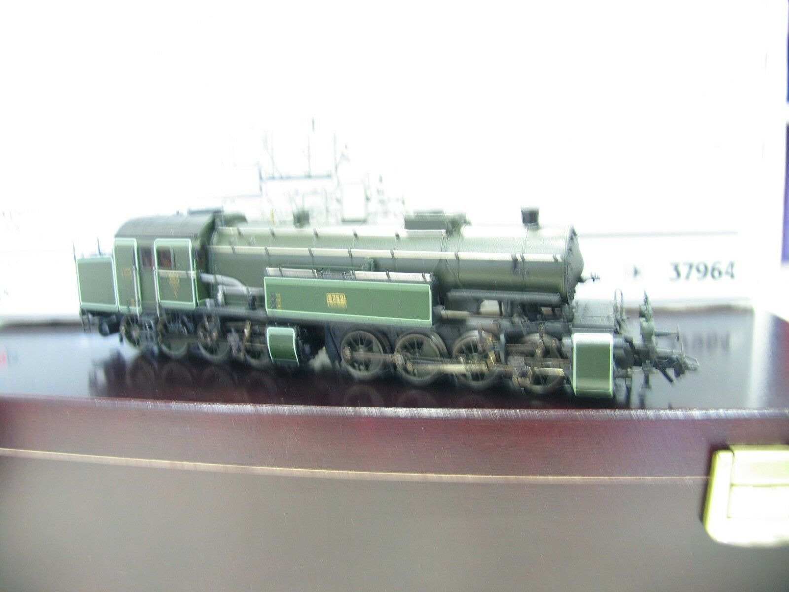 37964 LOCOMOTIVA GT 2x 4/4 VERDE Mallet Baviera digitale/Audio ml253