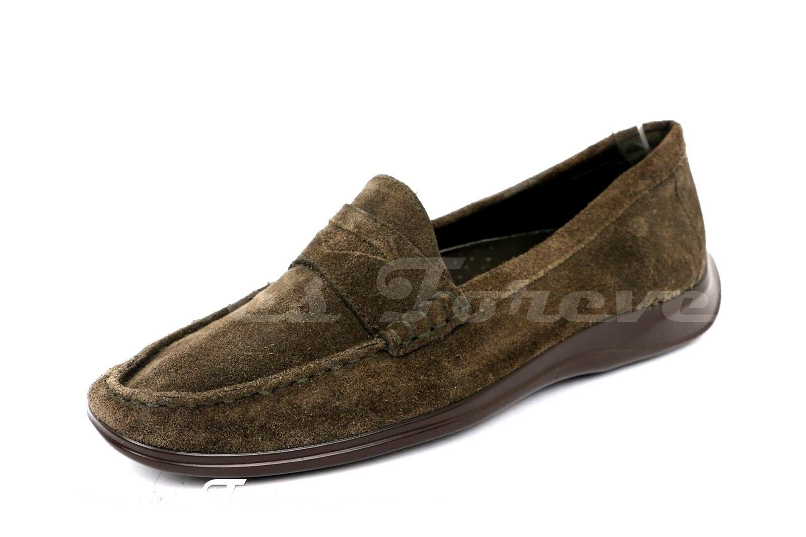 donna COLE HAAN  2048883 Olive verde suse mocassis sz.6 B  comprare a buon mercato