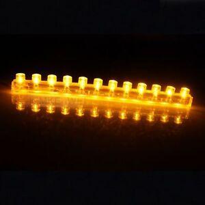12cm-Amber-LED-Flexible-Neon-Strip-Light-Car-Van-12V