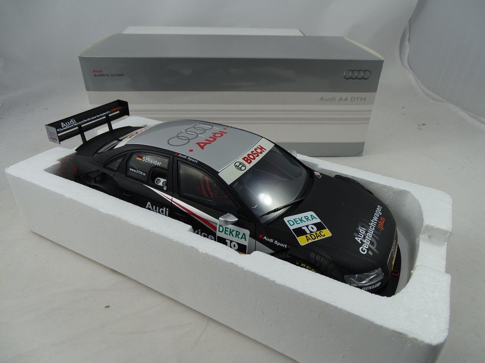 1 18 Norev Dealer modèlei a4 dtm 2008 T Solivore  10 - RARE §
