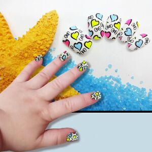 Image Is Loading Children 039 S False Nails Fake Artificial Acrylic