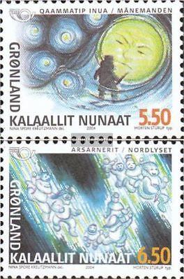 kompl.ausg. Grönland 414-415 Schlussverkauf Dänemark Postfrisch 2004 Nordische Mythen Up-To-Date-Styling
