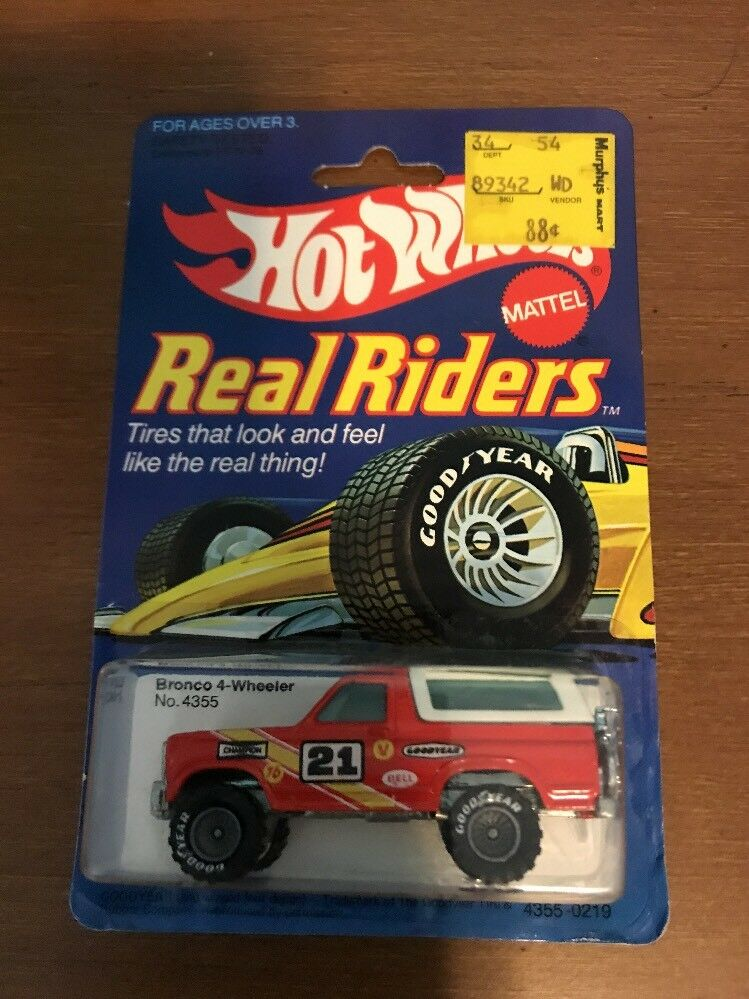 Hot wheels 1   64 - 1982 - reiter - bronco 4 wheeler   4355