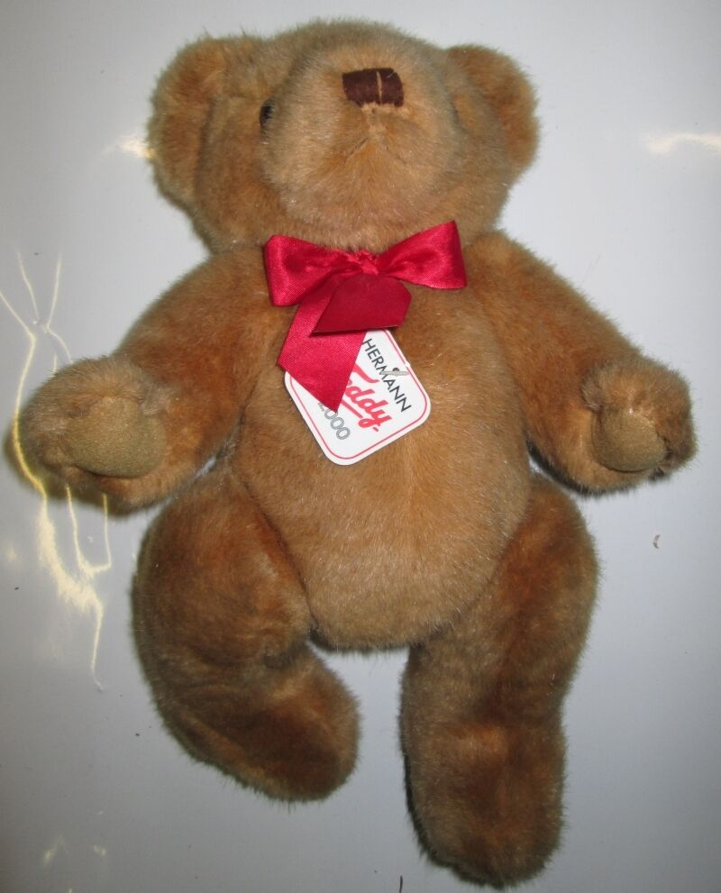 Hermann Teddy Original Bear Doll Collector Rare 30 cm High from Estate