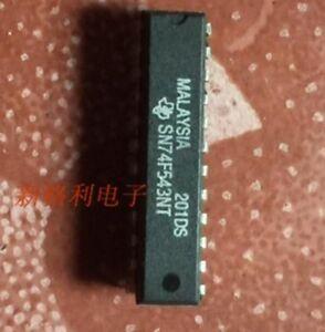 5PCS SN74F543NT OCTAL REGISTERED TRANSCEIVER DIP24