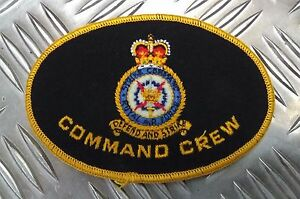 Genuine-Vintage-British-Royal-Air-Force-Command-Crew-034-Defend-And-Strike-034-Patch