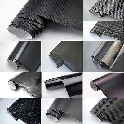 Autofolie 3D 4D Carbon Matt Glänzend Chrom Gebürstet Luftkanal Aufkleber Folie