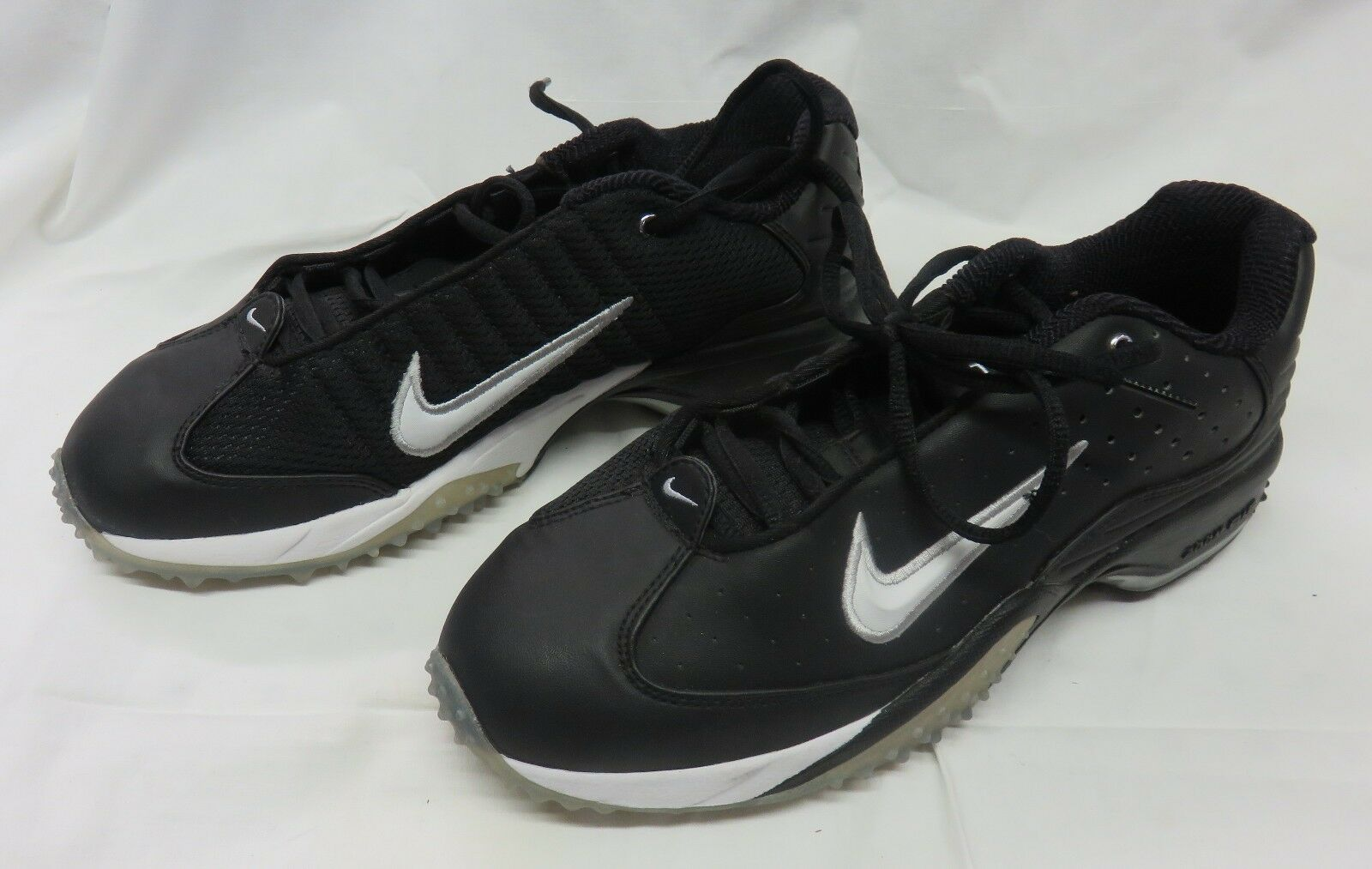 Nike Air Black Athletic Football Sport Training Running Shoes Mens Price reduction