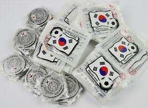 Konvolut-Lot-Coree-Aimants-de-Plus-55-Piece-pour-Refrigerateur-Football-Du-Sud