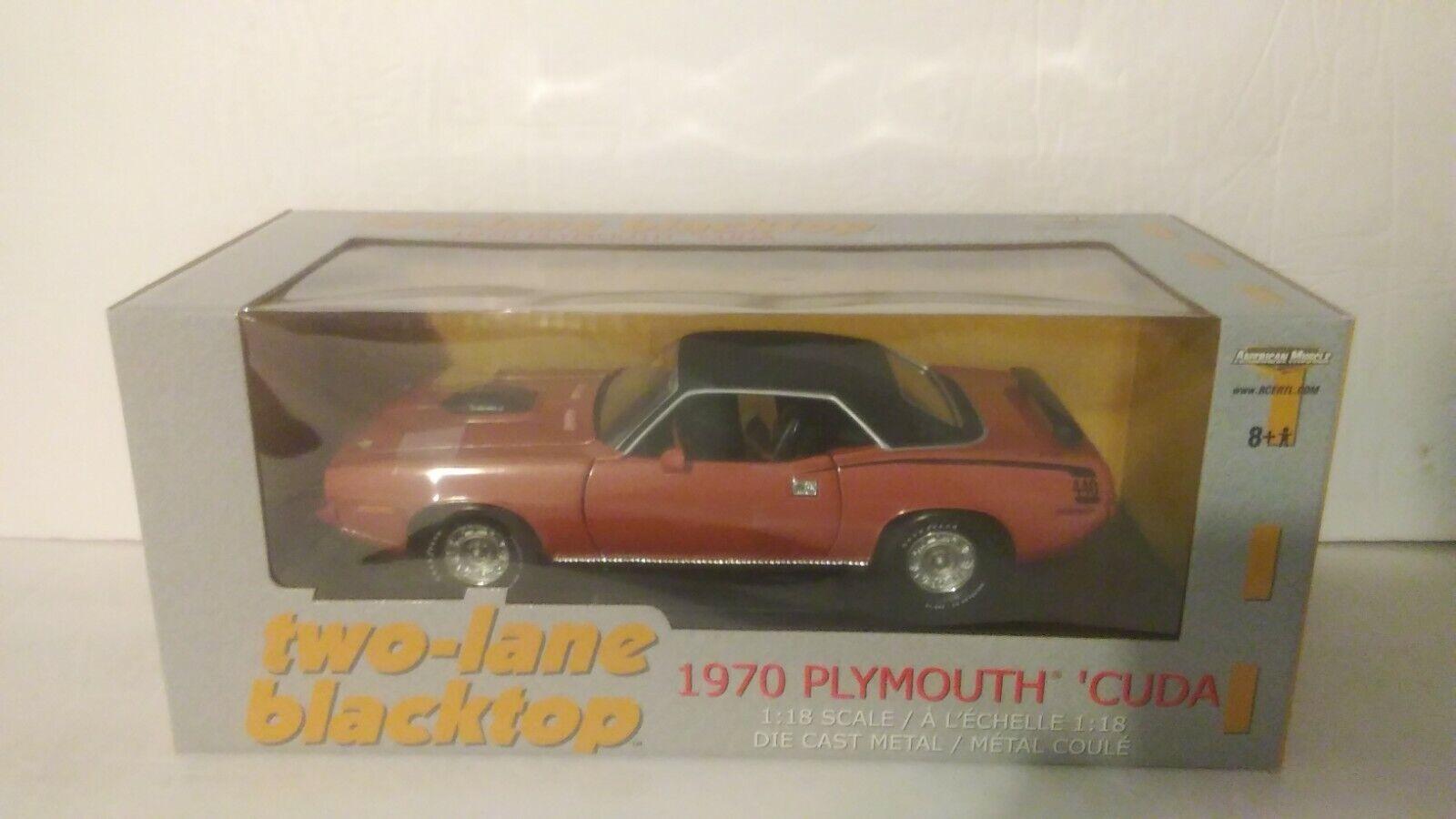 1970 Plymouth Cuda American Muscle 1 18 Scala Die Cast Metal