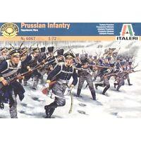 Italeri 1/72nd Napoleonic War Prussian Infantry Figures Set 6067