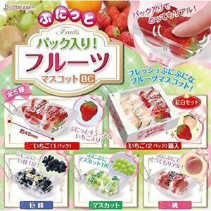J-DREAM-Punitto-fruit-BC-Gashapon-5set-mascot-capsule-toys-Figures-Complete-set