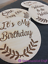 Photo Props New Baby Gift Wooden Baby Milestone Cards Keepsakes
