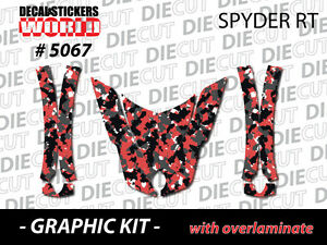 NEW-CAN-AM-SPYDER-RT-HOOD-FENDERS-WRAP-DECAL-STICKER-GRAPHICS-KIT-5067
