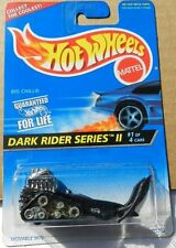 BIG CHILL SNOW MACHINE SKI ROD DARK RIDER SERIES II #1 96 1995 HW HOT WHEELS