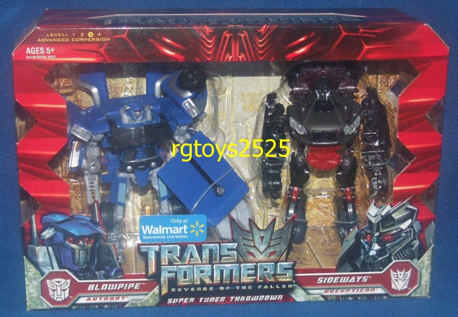 Transformers Revenge of the  Fallen Chalumeau Sideways nouveau Super Tuner Throwdown  vente en ligne
