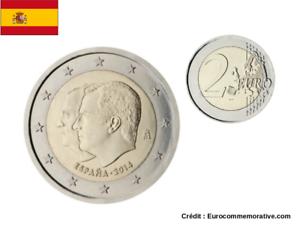 2 Euros Commémorative Espagne 2014 Felipe 4 UNC