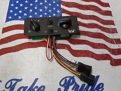 B3 Western Star Heater/AC Control Unit Panel Heater AC Red Dot 60303-3450 |  eBay | Red Dot Ac Unit Wiring |  | eBay