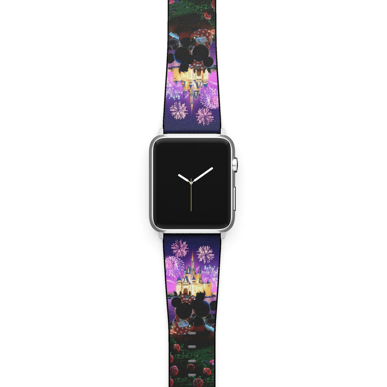 iwatch: Minnie and Mickey Disney Apple Watch Band SE 6 5 4 3 iWatch mouse 40 44 38 40 mm