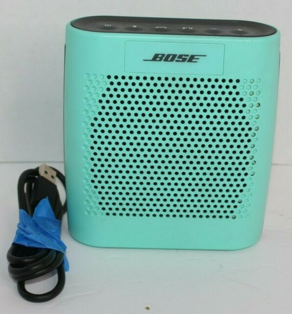 Bose SoundLink Teal Color Portable Wireless Bluetooth Speaker Model 415859