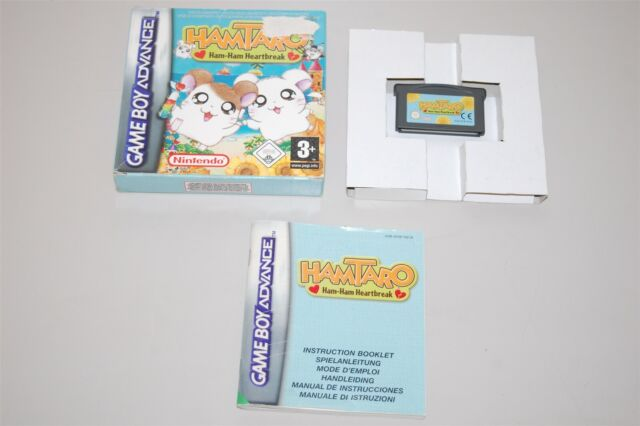 Hamtaro: Ham Ham Heartbreak PAL Nintendo Game Boy advance