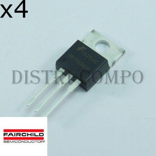 Menge 4 RFP50N06 Transistor 50A 60V TO-220 Fairchild ROHS