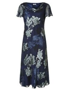 Uk Rrp Dress Devore Dh089 Vert Size Bias £199 12 Navy 8 Kk Cut Jacques Sq0zfnFw