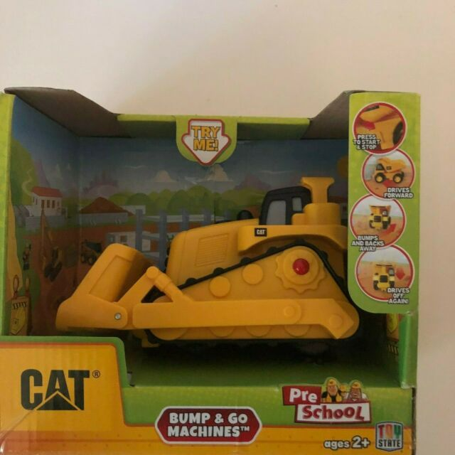 Toystate CAT Pull-back Machines by Toystate