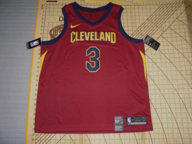 wholesale dealer 59944 db14c ADULT XLARGE (52) NIKE NBA CLEVELAND CAVALIERS #3 ISAIAH THOMAS JERSEY - NWT