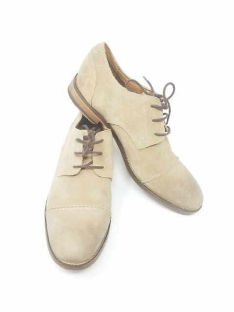 Men/'s Clarks 1825 Collection Exton Cap LaceUp Shoes Taupe Suede 26107748