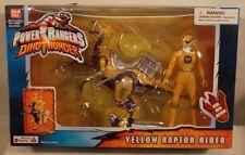 Power Rangers Dino Thunder - Yellow Raptor Rider With Yellow Ranger Bandai MISB