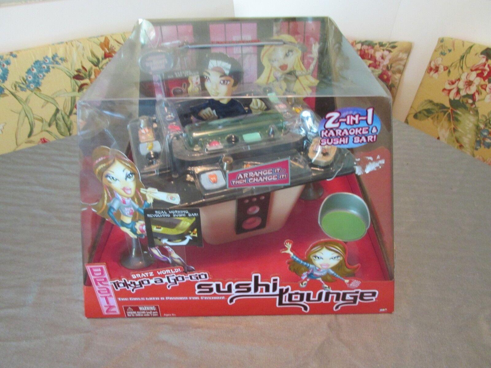 BRATZ Genie Magic TOKYO A GO GO MGA Entertainment MIB SUSHI LOUNGE KARAOKE 2004
