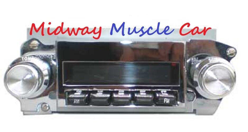 Image 1 - 69 70 71 72 Pontiac GTO Lemans G/P Digital AM/FM radio stock dash 4 ch USB Mp3
