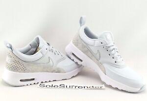 a344717892 Nike Air Max Thea PRM - SIZE 5.5 - 616723-018 Pure Platinum Silver ...