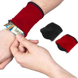 Handgelenk-Gym-Sweat-Band-Brieftasche-Beutel-Arm-Tasche-MP3-Key-Card-beutel-C1X1
